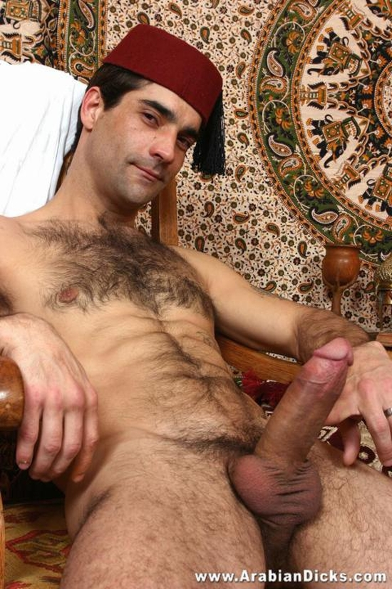 Middle eastern hunk cock more